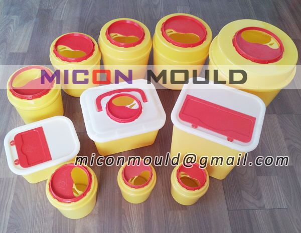 sharp container mould